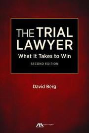 The Trial Lawyer by David Berg