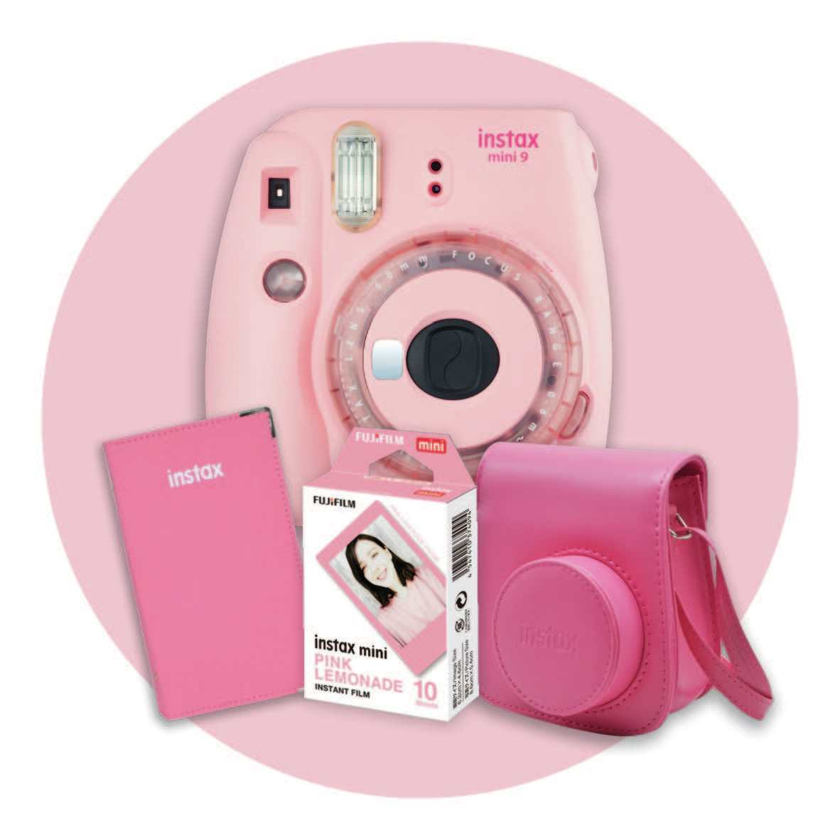 Instax: Fujifilm Mini9 Limited Edition Gift Pack - Pink image