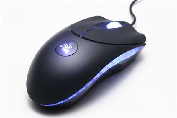 Razer Copperhead Tempest Blue Gaming Mouse