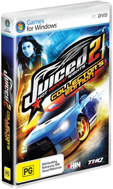 Juiced 2: Hot Import Nights: Collector's Edition for PC Games