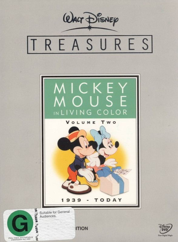 Walt Disney Treasures - Mickey Mouse In Living Color: Vol. 2 on DVD
