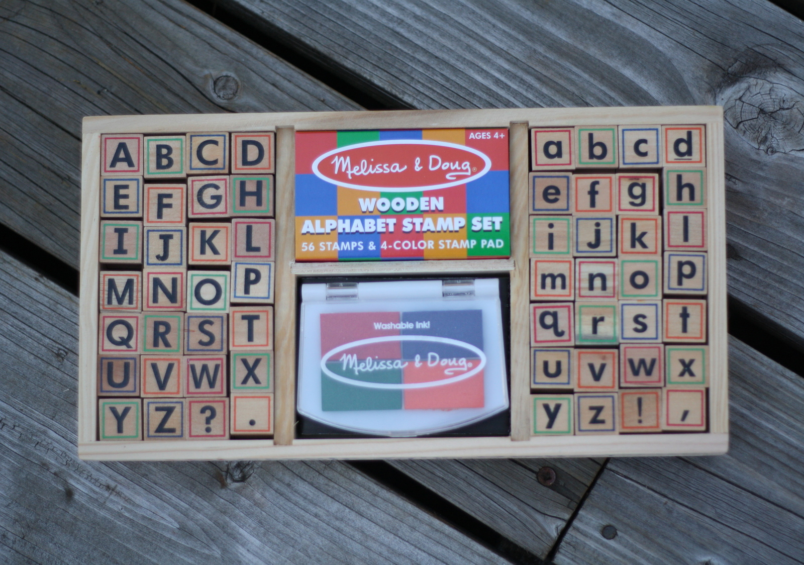 Melissa & Doug: Alphabet Stamp Set image