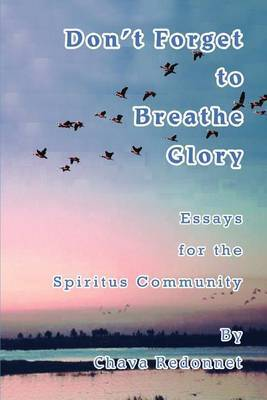 Don't Forget to Breathe Glory: Essays for the Spiritus Community by Chava Redonnet image