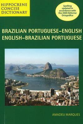 Brazilian Portuguese-English / English-Brazilian Portuguese Concise Dictionary by Amadeu Marques image