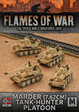 Flames of War: Afrika Korps - Marder (7.62cm) Tank-hunter Platoon