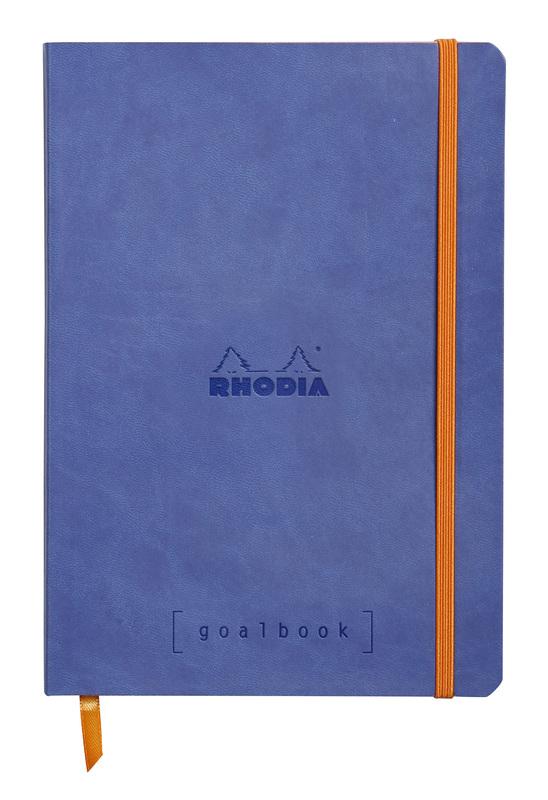 Rhodiarama A5 Goalbook Dot Grid - Sapphire