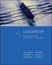 Leadership: Enhancing the Lessons of Experience by Richard L Hughes image