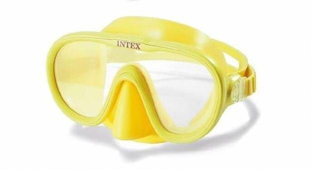 Intex: Sea Scan Swim Mask - Yellow