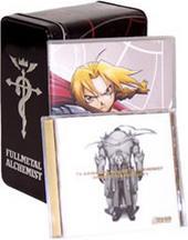 Fullmetal Alchemist Vol 01 & Tin Box & Soundtrack 1 on DVD