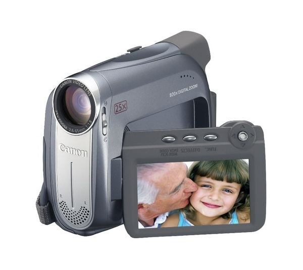 Canon MV920 Digital Video Camcorder 25X Op Sd Slot