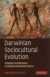 Darwinian Sociocultural Evolution by Marion Blute image
