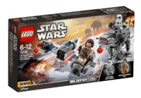 LEGO Star Wars: Ski Speeder vs. First Order Walker - Microfighters Set (75195)