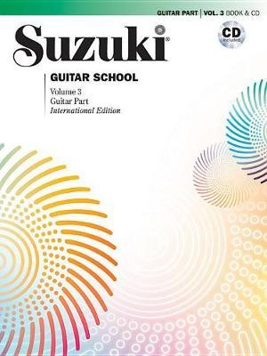 Suzuki Guitar School, Vol 3 by Shinichi Suzuki image