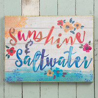 Natural Life: Wall Art - Sunshine & Saltwater
