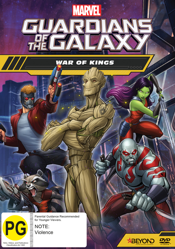 Guardians of the Galaxy: War of Kings on DVD