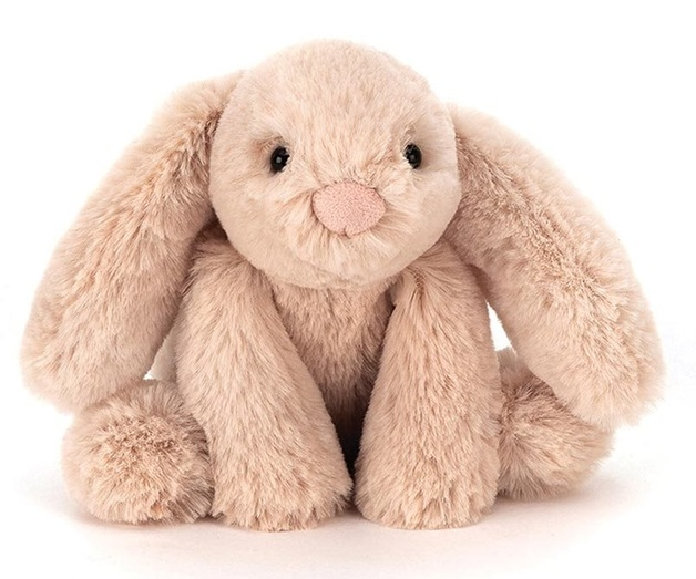 "Jellycat: Smudge Beige Rabbit - 12"" Tiny Plush"