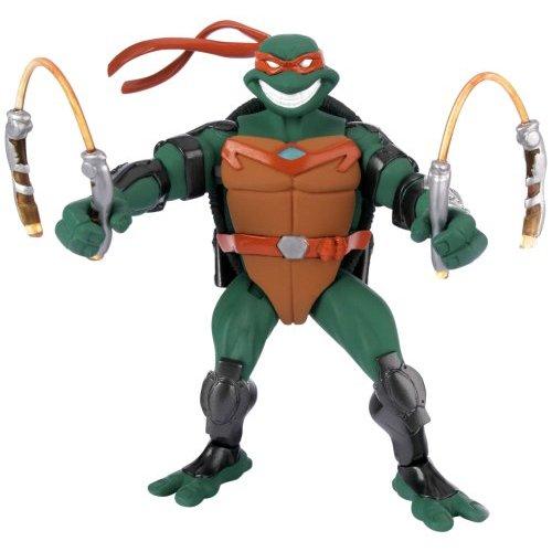 Teenage Mutant Ninja Turtles - Fast Forward Basic Figure - Michelangelo image