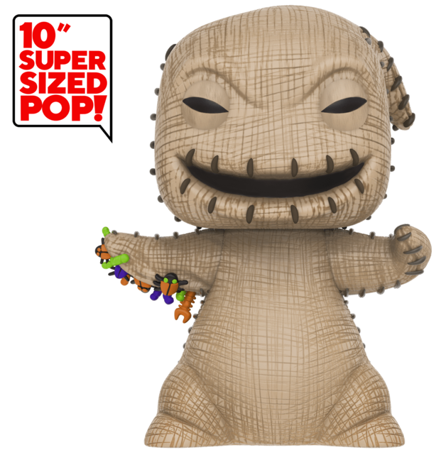 "Nightmare Before Christmas: Oogie Boogie - 10"" Super Sized Pop! Vinyl Figure"
