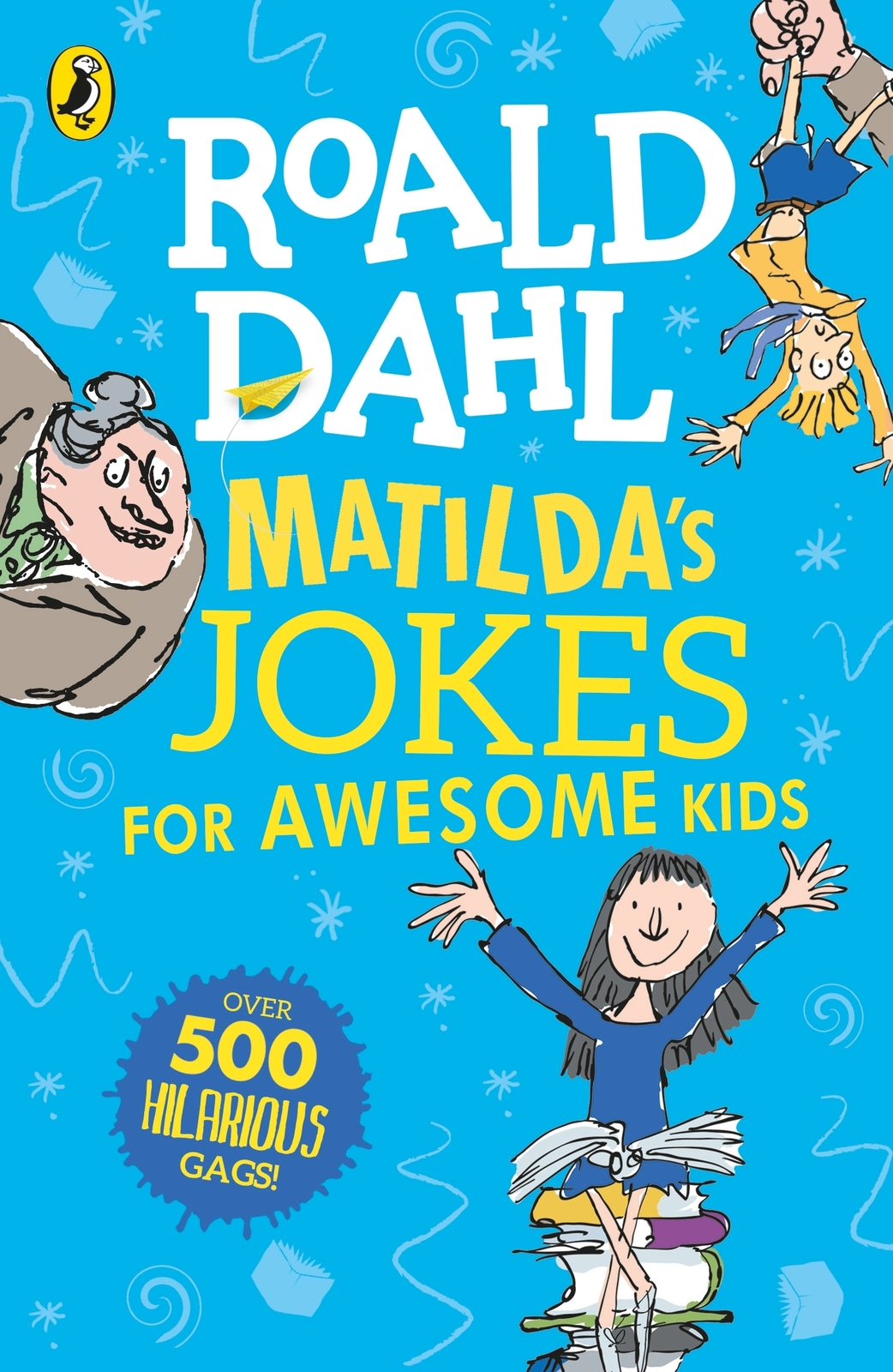 Matilda's Jokes For Awesome Kids by Roald Dahl image