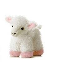 Aurora: Mini Flopsies - Lana Lamb