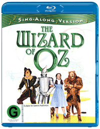 The Wizard of Oz - Sing-Along Version on Blu-ray