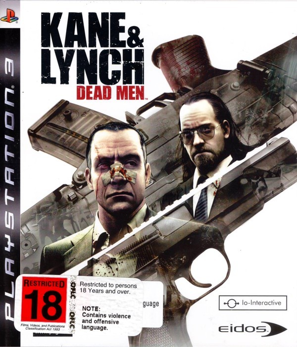 Kane & Lynch: Dead Men for PS3