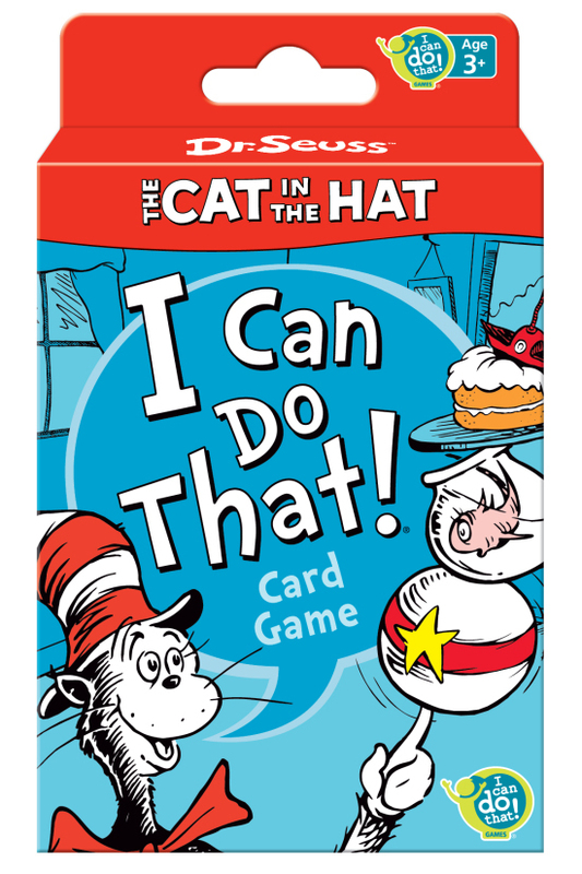 Dr. Seuss The Cat in the Hat I Can Do That! Game - Walmart ...
