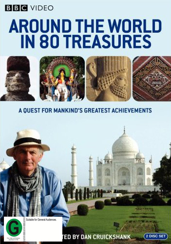 Around The World In 80 Treasures (4 Disc) on DVD