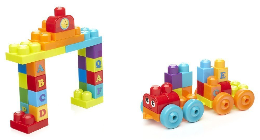 Mega Bloks: ABC Learning Train - Building Set