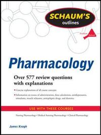Schaum's Outline of Pharmacology by Jim Keogh image
