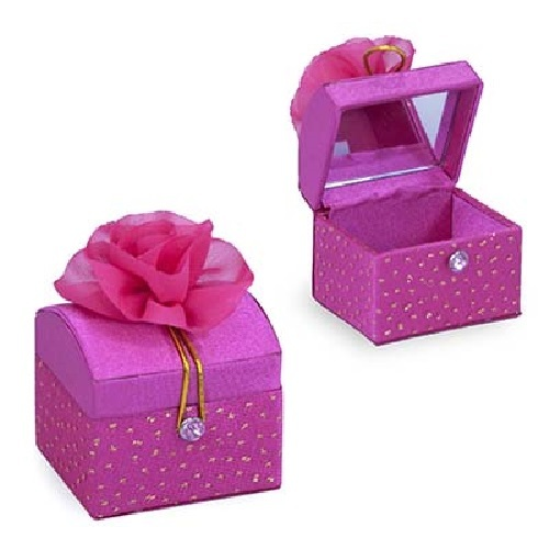 Pink Poppy: Sparkle Rose Tooth Chest - Hot Pink image