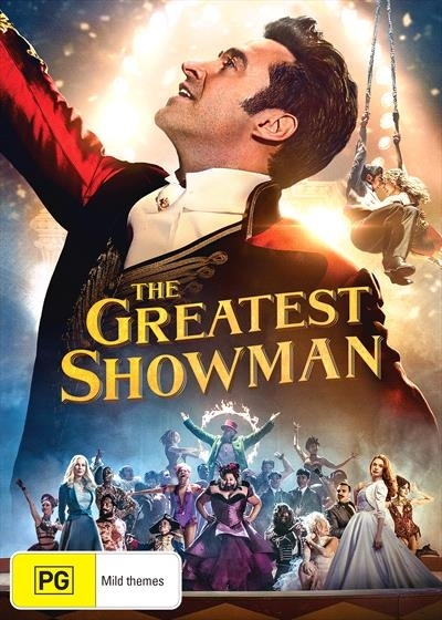 The Greatest Showman on DVD image