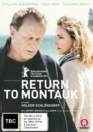 Return To Montauk on DVD