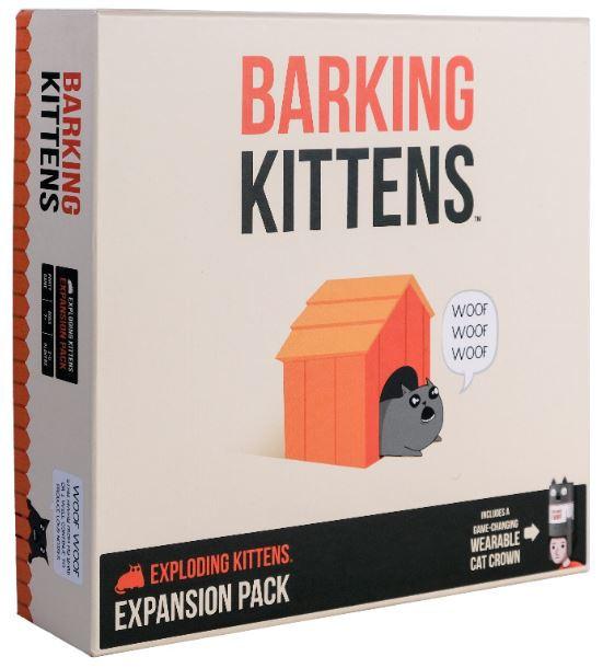 Exploding Kittens: Barking Kittens - Expansion Pack