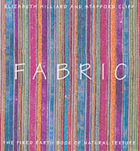 "Fabric: The ""Fired Earth"" Book of Natural Texture by Elizabeth Hilliard image"