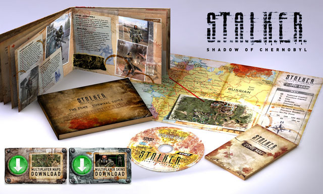 S.T.A.L.K.E.R.: Shadow of Chernobyl Collector's Edition for PC Games image