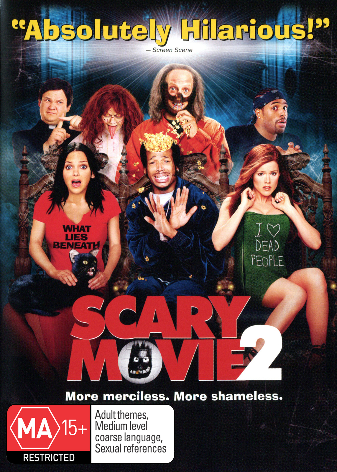 Scary Movie 2 on DVD image