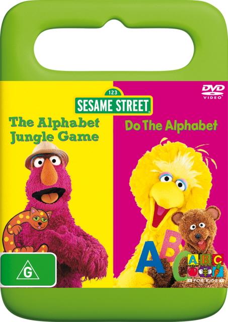 Sesame Street - Alphabet Jungle Game / Do The Alphabet! on DVD image