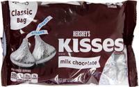 Hersheys Kisses Milk Chocolate Classic Bag (340g)