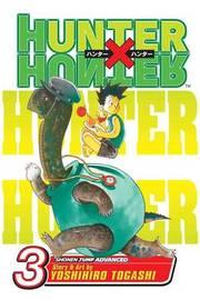 Hunter x Hunter, Vol. 3 by Yoshihiro Togashi