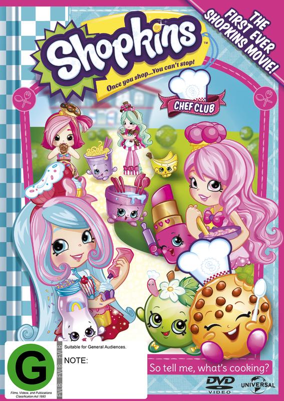 Shopkins: Chef Club on DVD