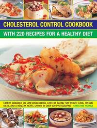 Cholesterol Control Cookbook by Christine France