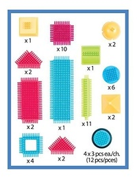 Bristle Blocks: Basic Builder Box - 56pc