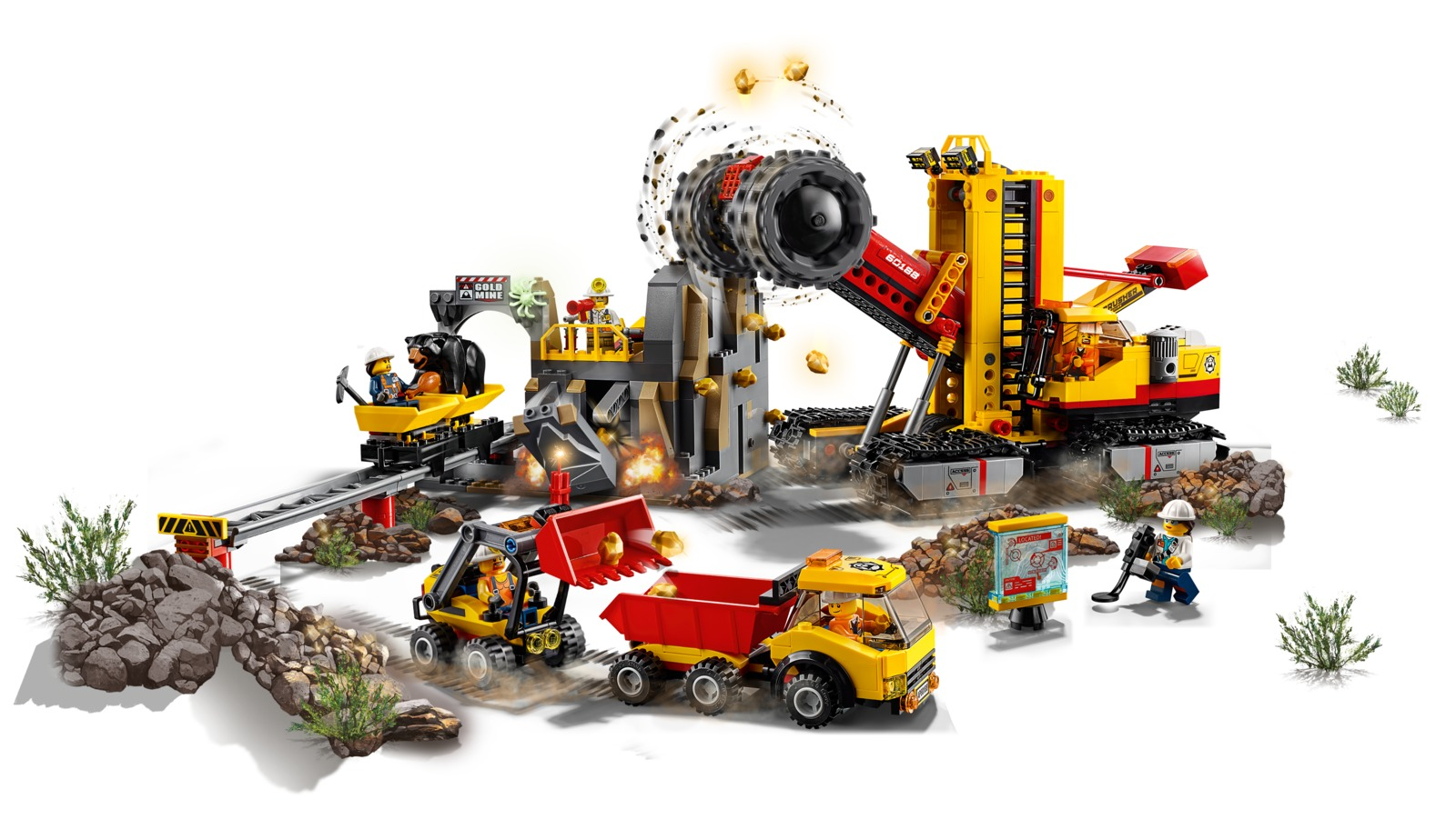 Lego City Mining Experts Site 60188 Toy At Mighty Ape Nz