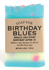 Whiskey River Co: Soap - Birthday Blues