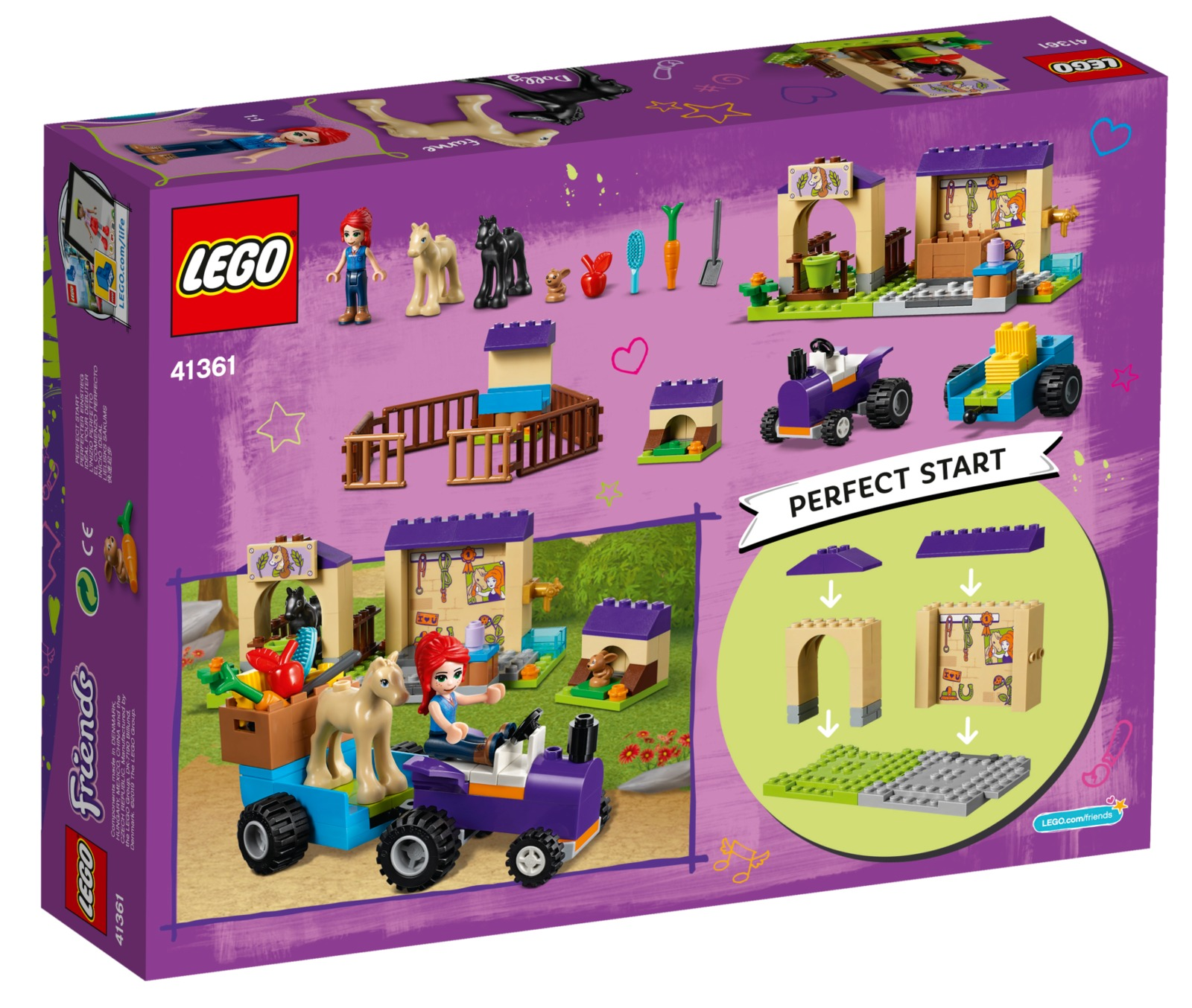LEGO Friends: Mia's Foal Stable (41361) image