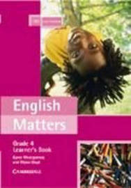 English Matters Grade 4 Learner's Pack by Karen Montgomery image