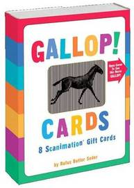 Gallop! Cards: 8 Scanimation Gift Cards by Rufus Butler Seder