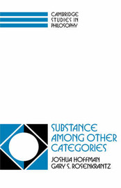 Substance among Other Categories by Joshua Hoffman