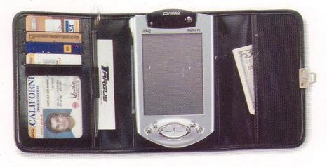 Palm/Handheld Tri Fold Universal PDA Case image